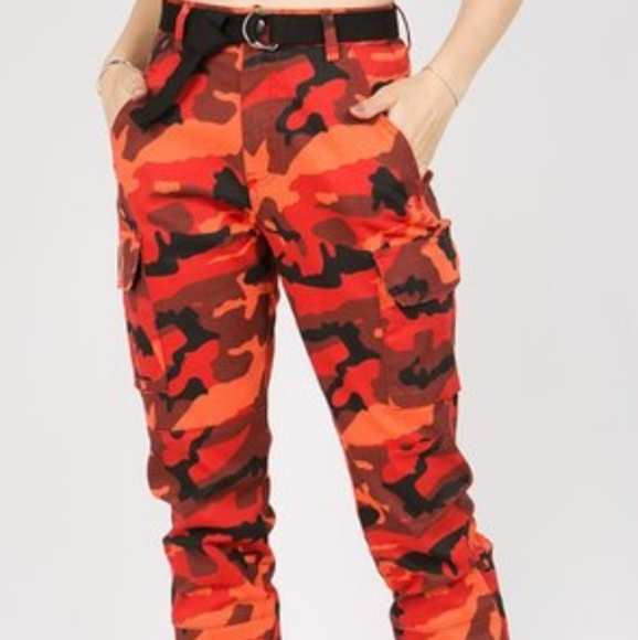 rational construction how to choose new lifestyle Women plus camo joggers